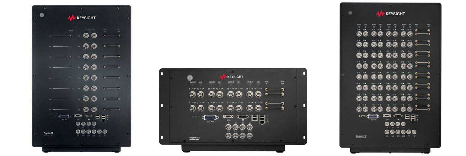 Keysight Propsim radio channel emulators