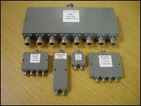 M2Global coaxial power dividers